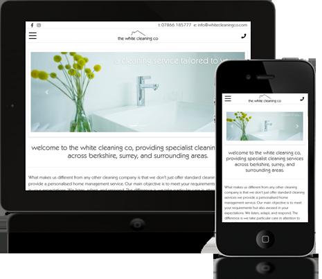 Mobile Optimised Websites