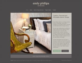 Emily Phillips Interiors Homepage